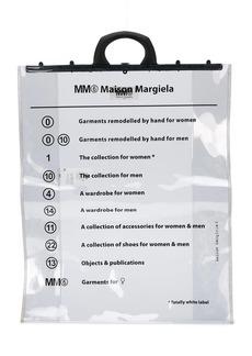 Maison Margiela transparent tote bag