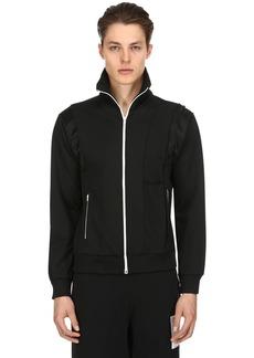 Maison Margiela Tuxedo Zip-up Jersey Track Jacket