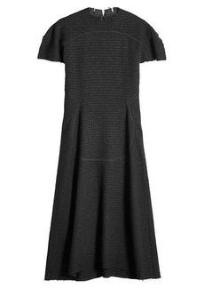 Maison Margiela Tweed Dress with Virgin Wool
