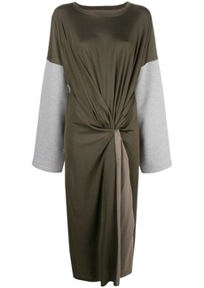 Maison Margiela twisted front dress