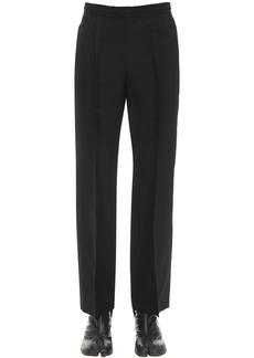 Maison Margiela Two Ply Wool Poplin Track Suit Pants