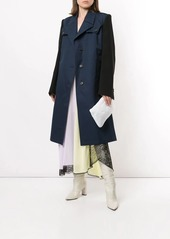 Maison Margiela two-tone belted coat