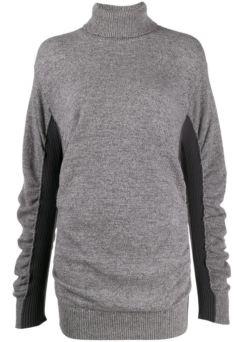 Maison Margiela two-tone roll neck jumper