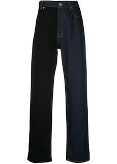 Maison Margiela two-tone straight jeans
