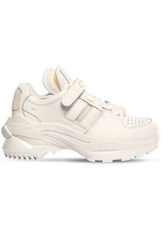 Maison Margiela Union Retro Fit Leather Low Top Sneakers
