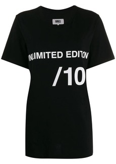 Maison Margiela unlimited edition print T-shirt