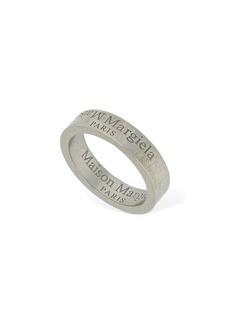 Maison Margiela Upside Down Logo Band Ring