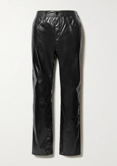 Maison Margiela Vinyl Straight-leg Pants