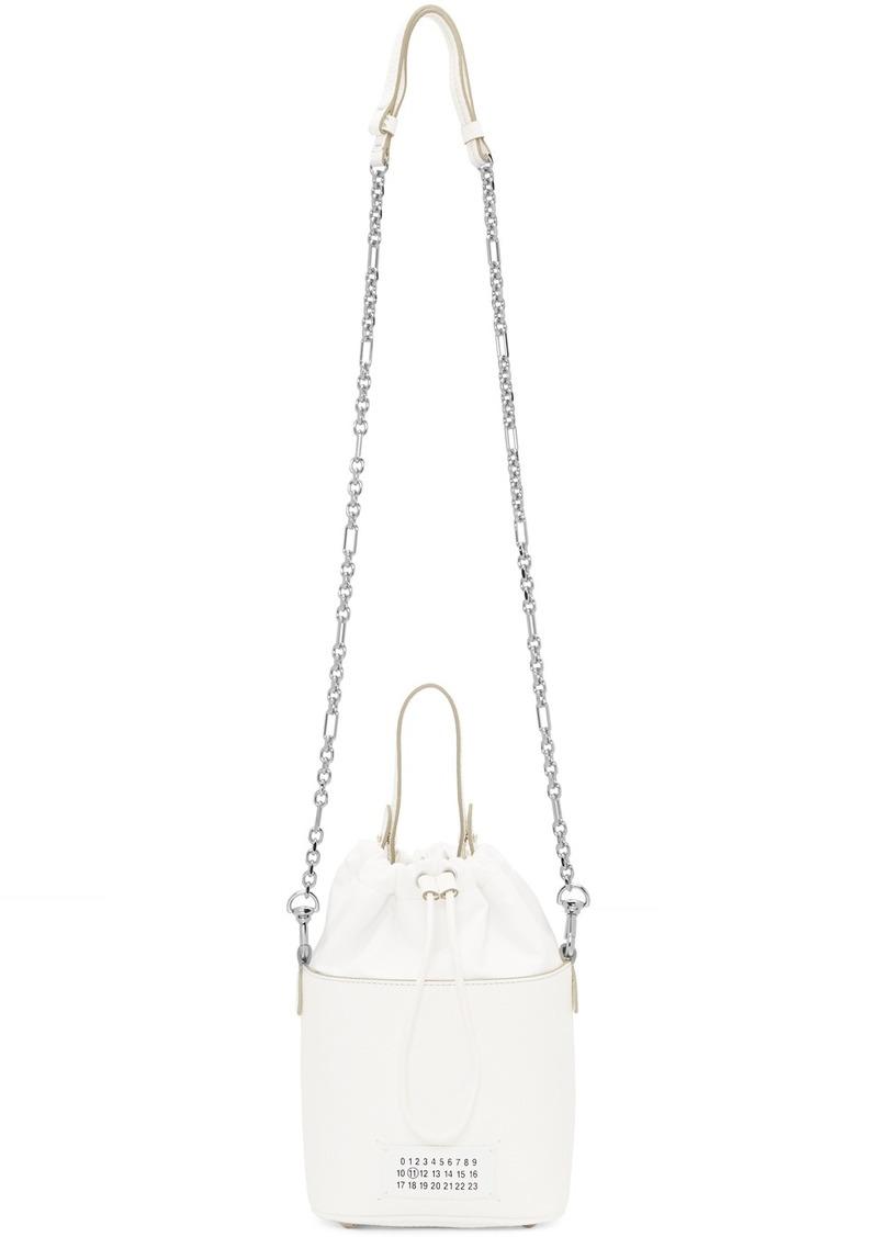 Maison Margiela White 5AC Bucket Bag