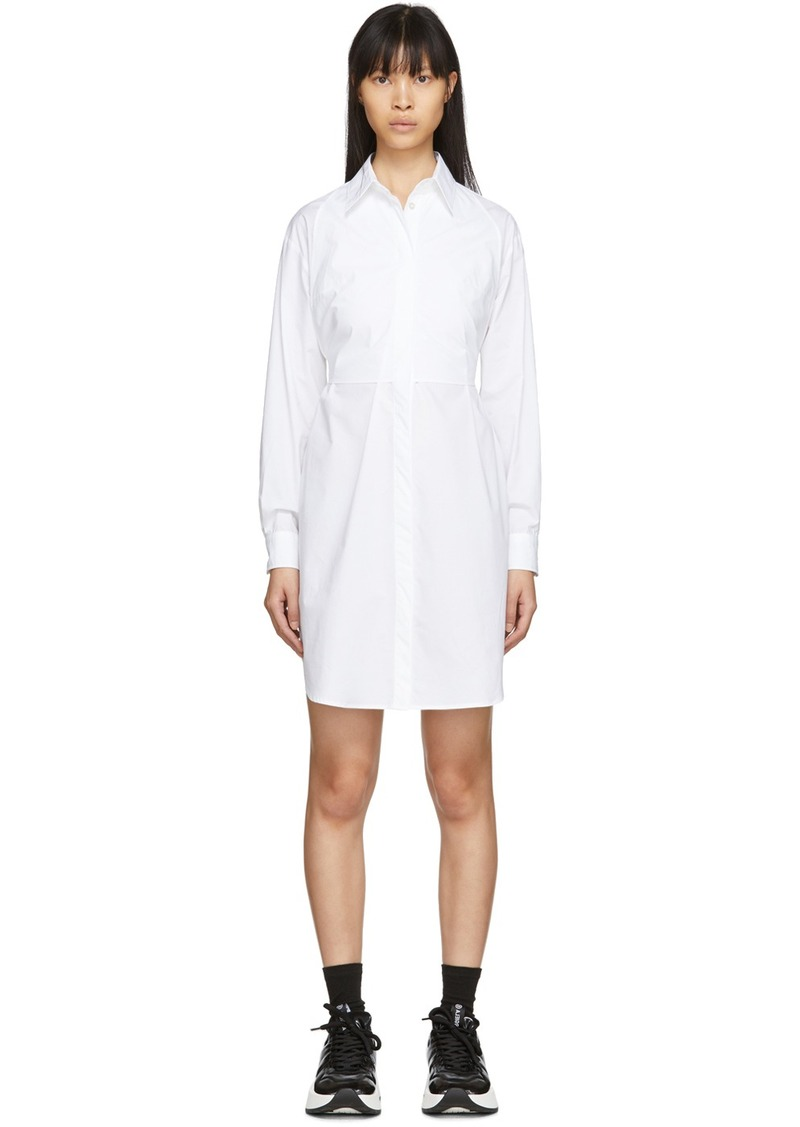 Maison Margiela White Poplin Shirt Dress