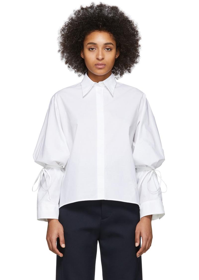 Maison Margiela White String Shirt