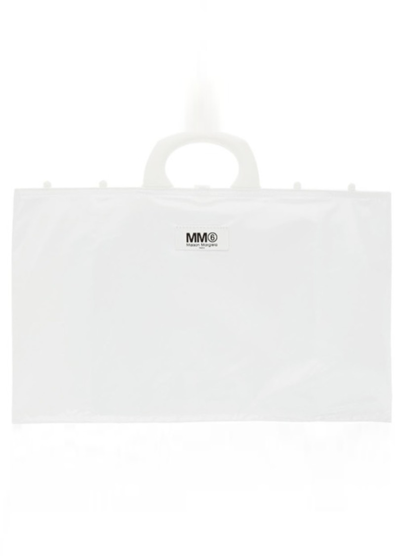 Maison Margiela White Wide Rectangle Shopping Tote
