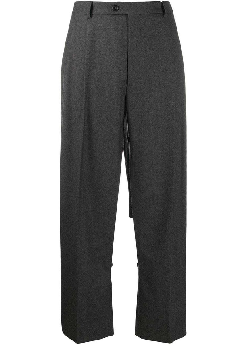 Maison Margiela cut-out tailored trousers