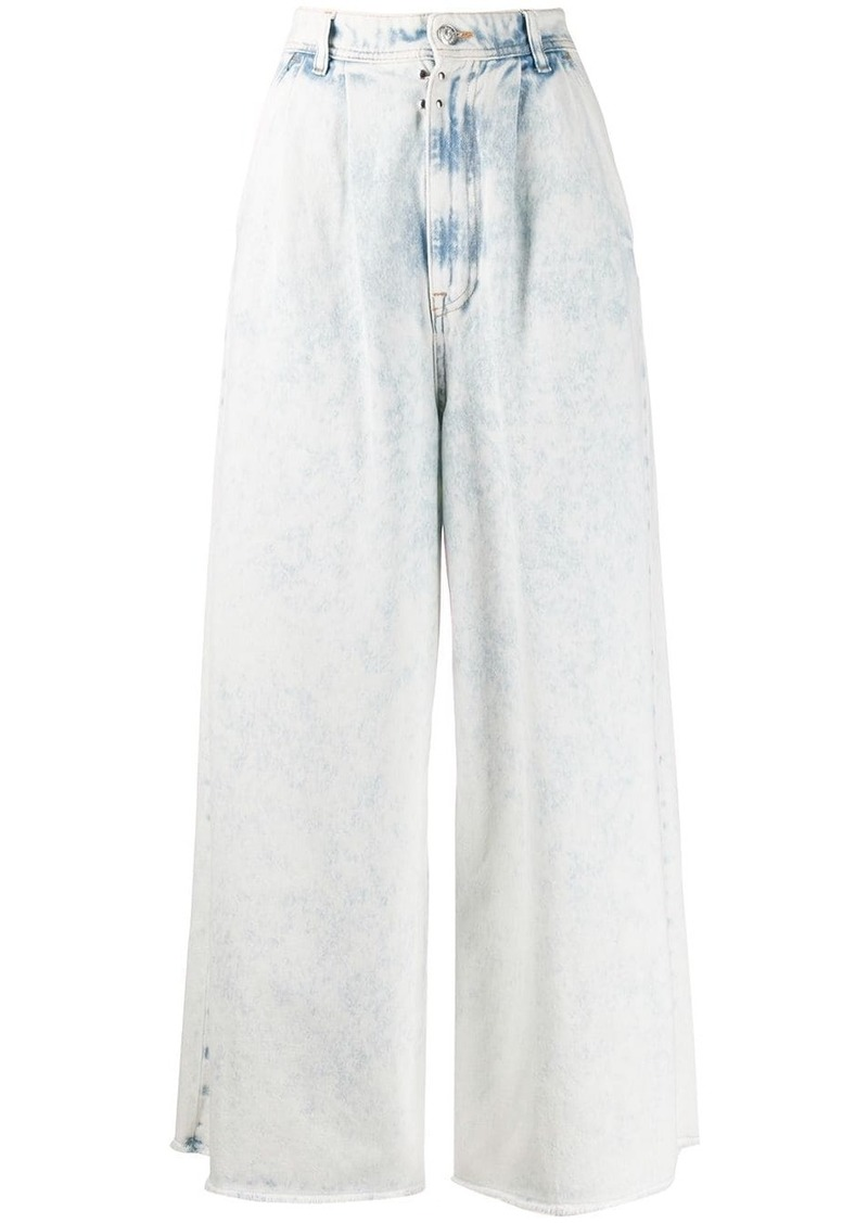 Maison Margiela wide-leg acid-wash jeans