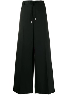 Maison Margiela wide leg trousers