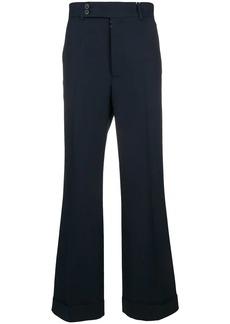 Maison Margiela wide leg trousers