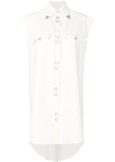 Maison Margiela wing tipped sleeveless western dress