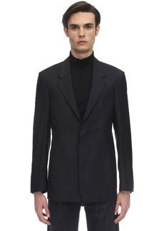 Maison Margiela Wool & Mohair Poplin Jacket