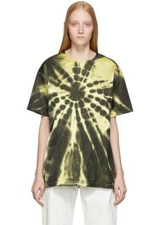 Maison Margiela Yellow Tie-Dye T-Shirt