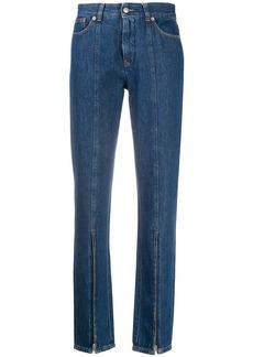 Maison Margiela zip-detail straight-leg jeans