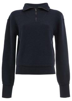 Maison Margiela zipped knitted top