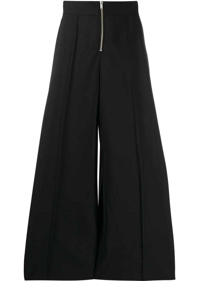 Maison Margiela zipped palazzo trousers