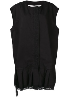 Maison Margiela zipped waistcoat dress