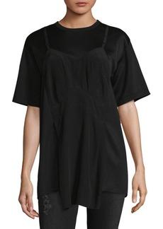 Maison Margiela Hybrid Short Sleeve Top