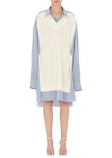 Maison Margiela Women's Oversized Cotton Shirtdress