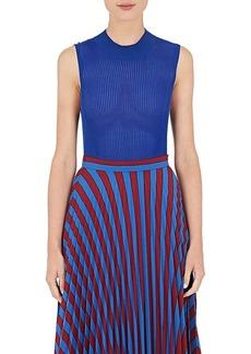 Maison Margiela Women's Rib-Knit Sleeveless Sweater