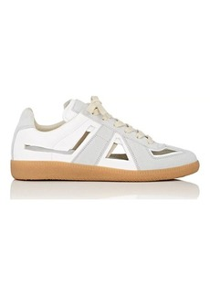 Maison Margiela Women's Replica Cutout Leather & Suede Sneakers