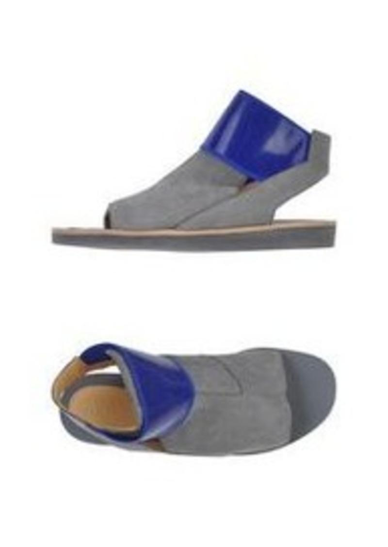 maison martin margiela mm6 by maison margiela flip flops shoes shop it to me. Black Bedroom Furniture Sets. Home Design Ideas