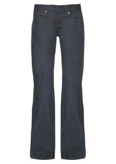 Maison Martin Margiela MM6 by Maison Margiela Low-rise wide-leg jeans