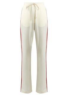 Maison Martin Margiela MM6 by Maison Margiela Side-stripe straight-leg track pants