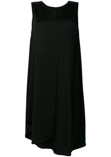 Mm6 Maison Margiela asymmetric midi dress - Black