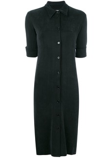 Mm6 Maison Margiela button midi dress - Black
