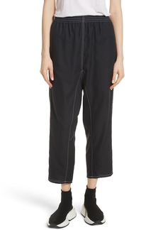 MM6 Maison Margiela Crop Pants