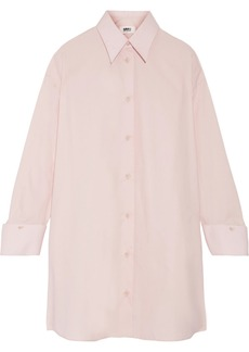Maison Martin Margiela MM6 Maison Margiela Oversized cotton-poplin shirt dress