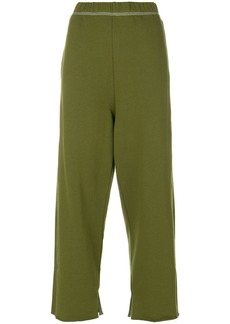 Mm6 Maison Margiela oversized raw hem joggers - Green