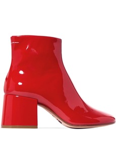 Maison Margiela Patent-leather Ankle Boots