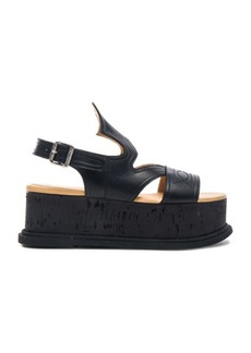 Maison Martin Margiela MM6 Maison Margiela Platform Leather Sandals