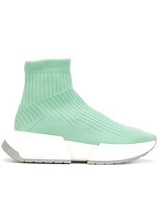 Mm6 Maison Margiela platform sock sneakers - Green