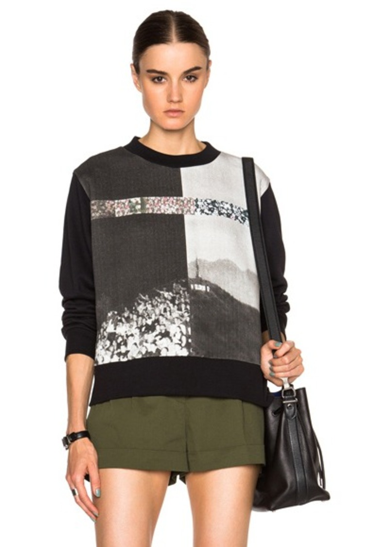 MM6 Maison Margiela Printed Sweater