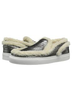 MM6 Maison Margiela Shearling Trim Sneaker
