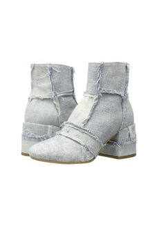 MM6 Maison Margiela Vintage Denim Ankle Boot