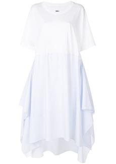 Mm6 Maison Margiela wide fit T-shirt dress - White