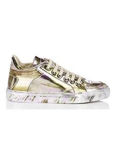MM6 Maison Margiela Women's Brushstroke Specchio Leather Sneakers
