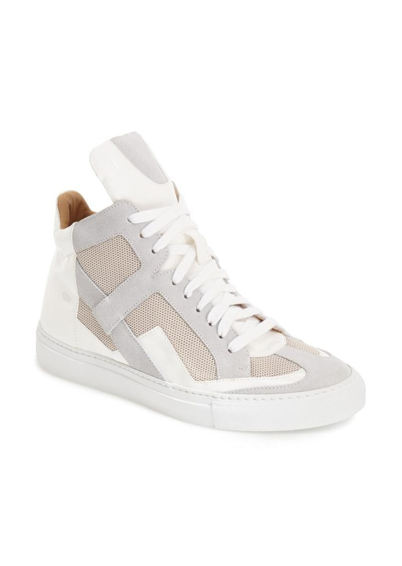 maison martin margiela mm6 maison margiela high top sneaker women shoes shop it to me. Black Bedroom Furniture Sets. Home Design Ideas