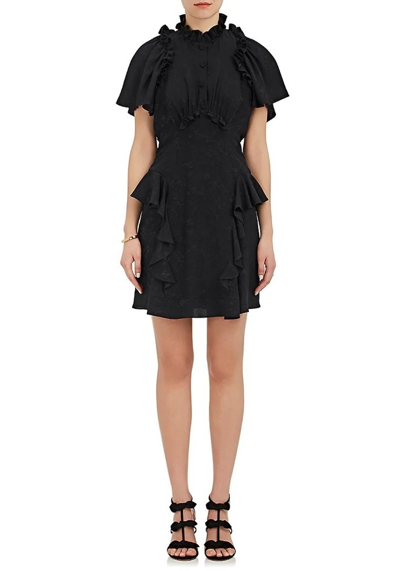 Maison Mayle Women's Guapa Cutout Silk Dress