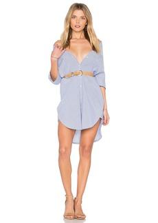 Maison Scotch Clean Summer Long Shirt Dress